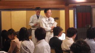 旭川出張所 平本所長から、貴重なご意見を頂きました。