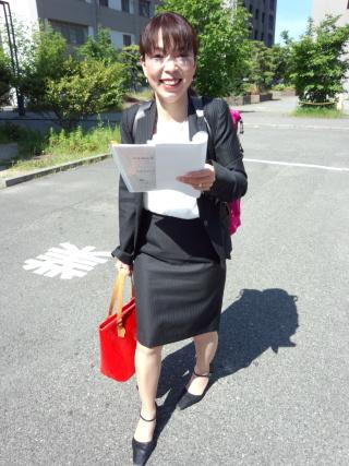 愛媛大学にて ㈱大竹組 橋本美春さま